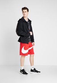 Nike Performance - DRY SHORT - Träningsshorts - university red/white - 1