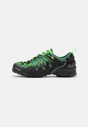 MS WILDFIRE EDGE GTX - Obuwie hikingowe - myrtle/fluo green