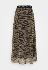 Calvin Klein Jeans - Maxi skirt - irish cream/black - 4