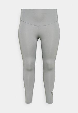 RUN 7/8 PLUS - Punčochy - particle grey/reflective silver