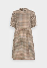 Love Copenhagen - CULLA DRESS - Day dress - brown check - 3