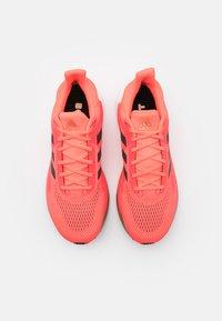 adidas Performance - SOLAR GLIDE BOOST SHOES - Neutrala löparskor - signal pink/core black/copper metallic - 3