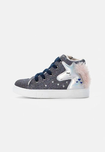 TRAINERS - High-top trainers - blue
