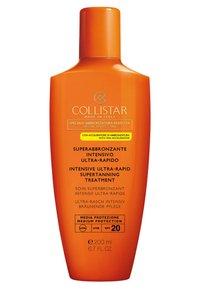 Collistar - INTENSIVE ULTRA-RAPID SUPERTANNING TREATMENT SPF 20 - Sun protection - - - 0