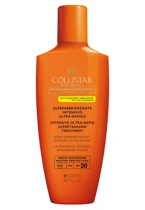 INTENSIVE ULTRA-RAPID SUPERTANNING TREATMENT SPF 20 - Sun protection - -