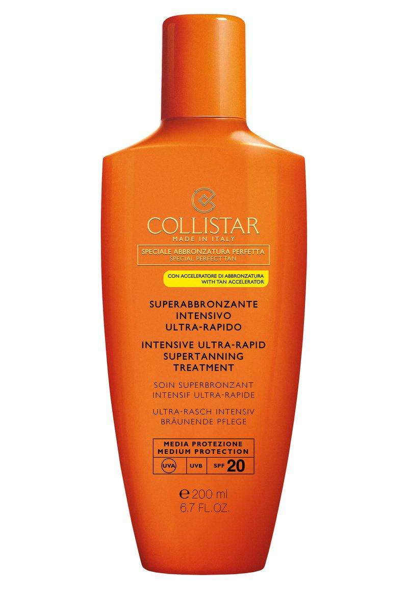 Collistar - INTENSIVE ULTRA-RAPID SUPERTANNING TREATMENT SPF 20 - Sun protection - -