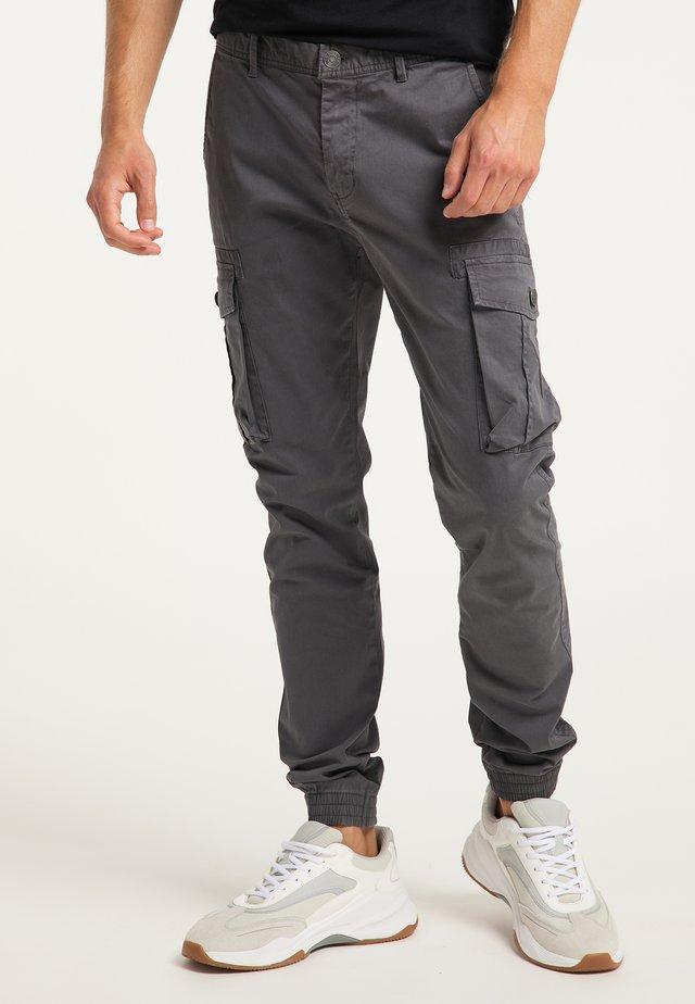 Pantalon cargo - schlamm