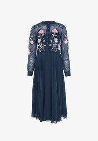 BEAUUT - Shirt dress - navy - 5