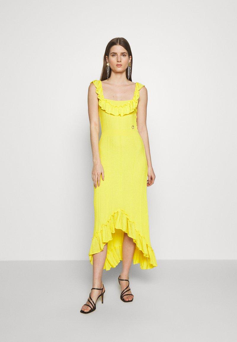 Just Cavalli - Společenské šaty - yellow