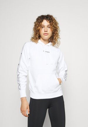 HOODED - Sweater - white