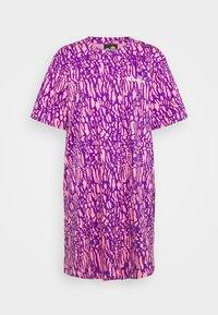 LORIE - Jersey dress - pink