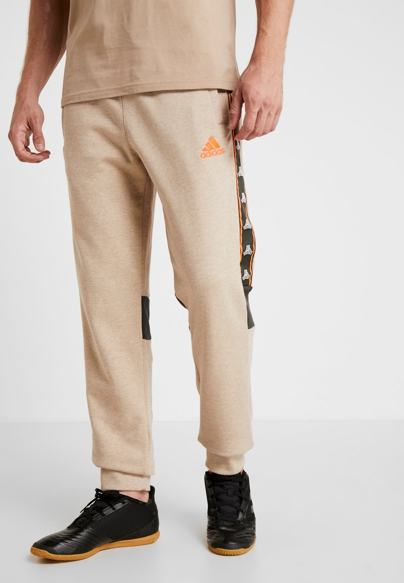 adidas Performance - Pantalones deportivos - tan