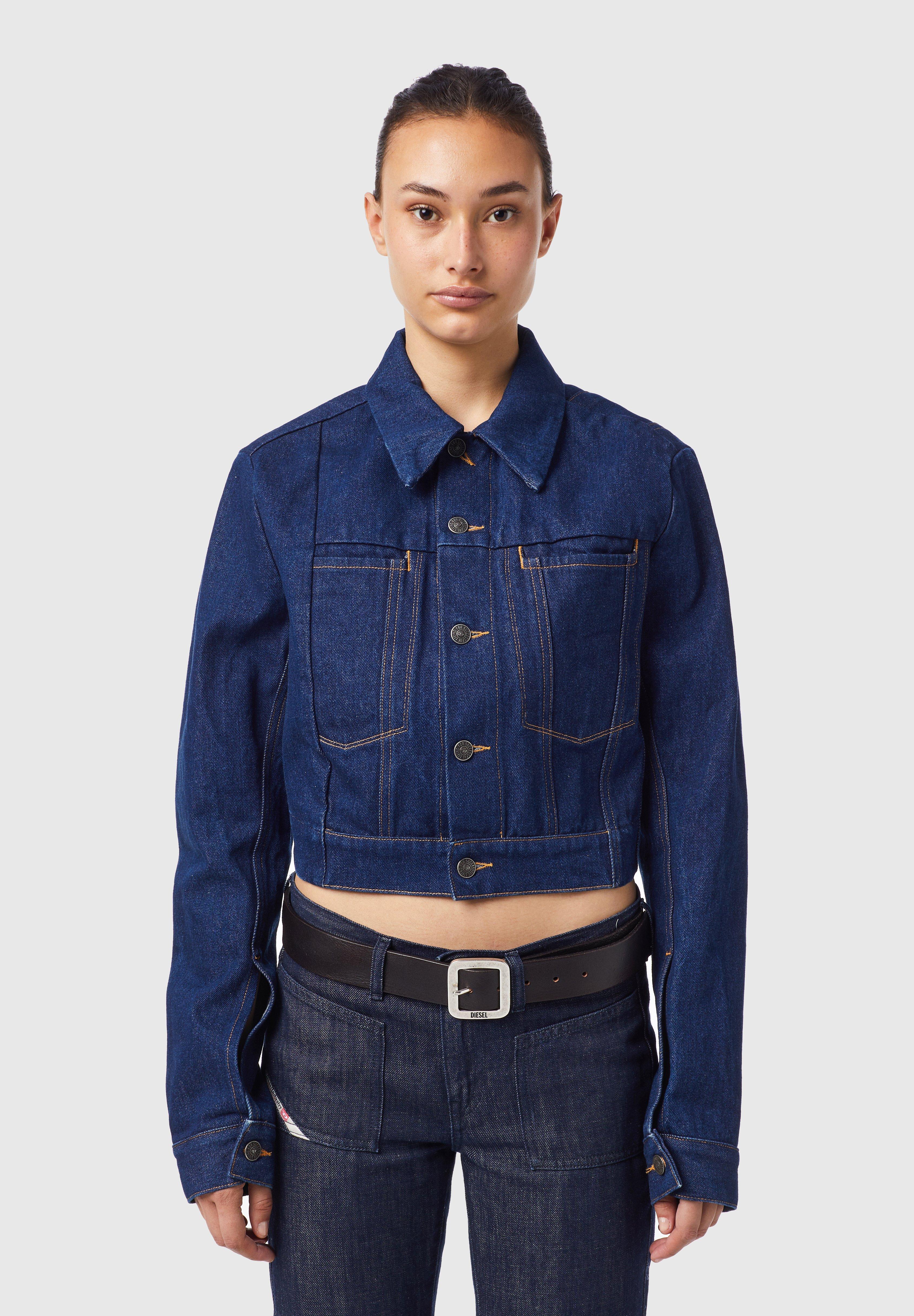 Femme DE-LUCYSHORT-SP - Veste en jean