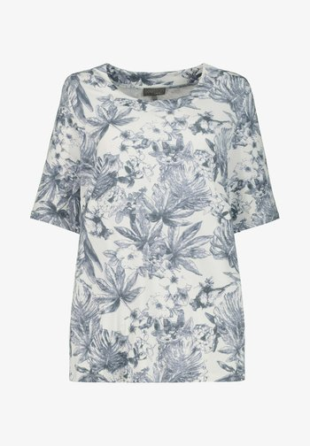 Print T-shirt - mitternachtsblau