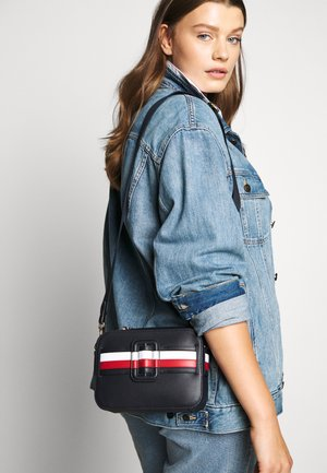 CHIC CAMERA BAG - Across body bag - blue