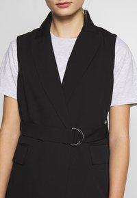 Sisley - WAISTCOAT - Waistcoat - black - 5