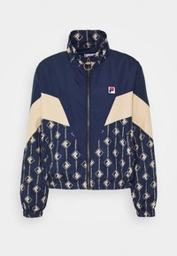 Fila - HARINI JACKET - Summer jacket - black iris/irish cream - 5