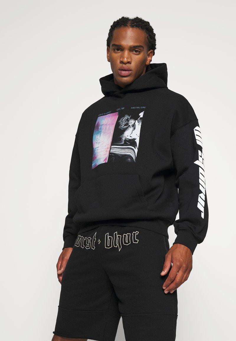 WRSTBHVR - BETTER RUN HOODIE UNISEX - Sweatshirt - black