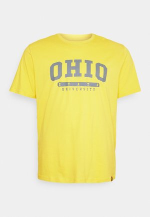 COLLEGE PRINT TEE - T-shirt med print - yellow