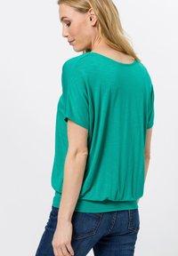 zero - Print T-shirt - emerald green - 2