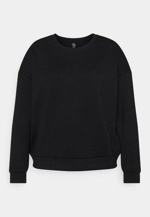 ONPLOUNGE CURVY - Sweatshirt - black