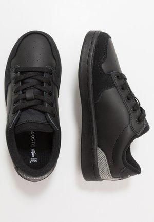 MASTERS CUP - Sneakers laag - black