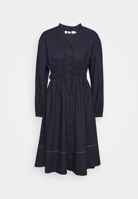 Proenza Schouler White Label - SHIRTING DRESS - Košilové šaty - midnight - 0