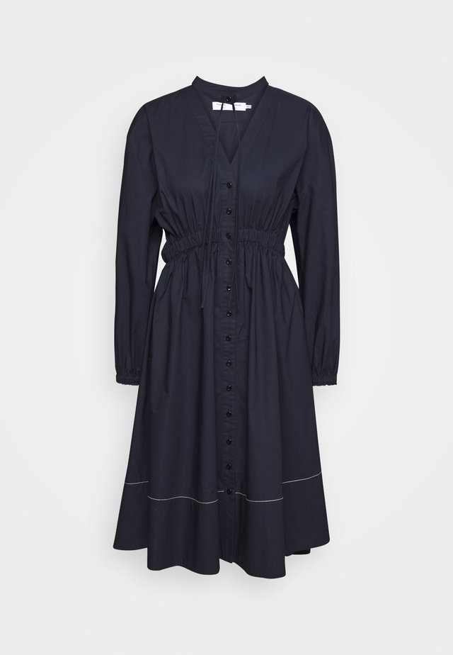 SHIRTING DRESS - Shirt dress - midnight