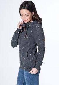 alife & kickin - YASMIN  - Zip-up hoodie - black - 3