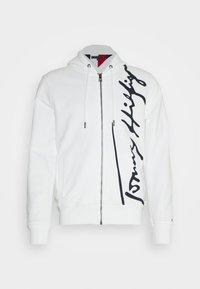 Tommy Hilfiger - SIGNATURE HOODED ZIP THROUGH - Zip-up hoodie - white - 4