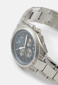 Armani Exchange - Rannekello ajanottotoiminnolla - silver-coloured - 3
