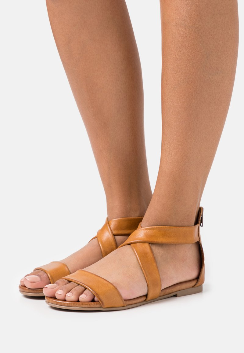Anna Field - LEATHER - Sandals - brown