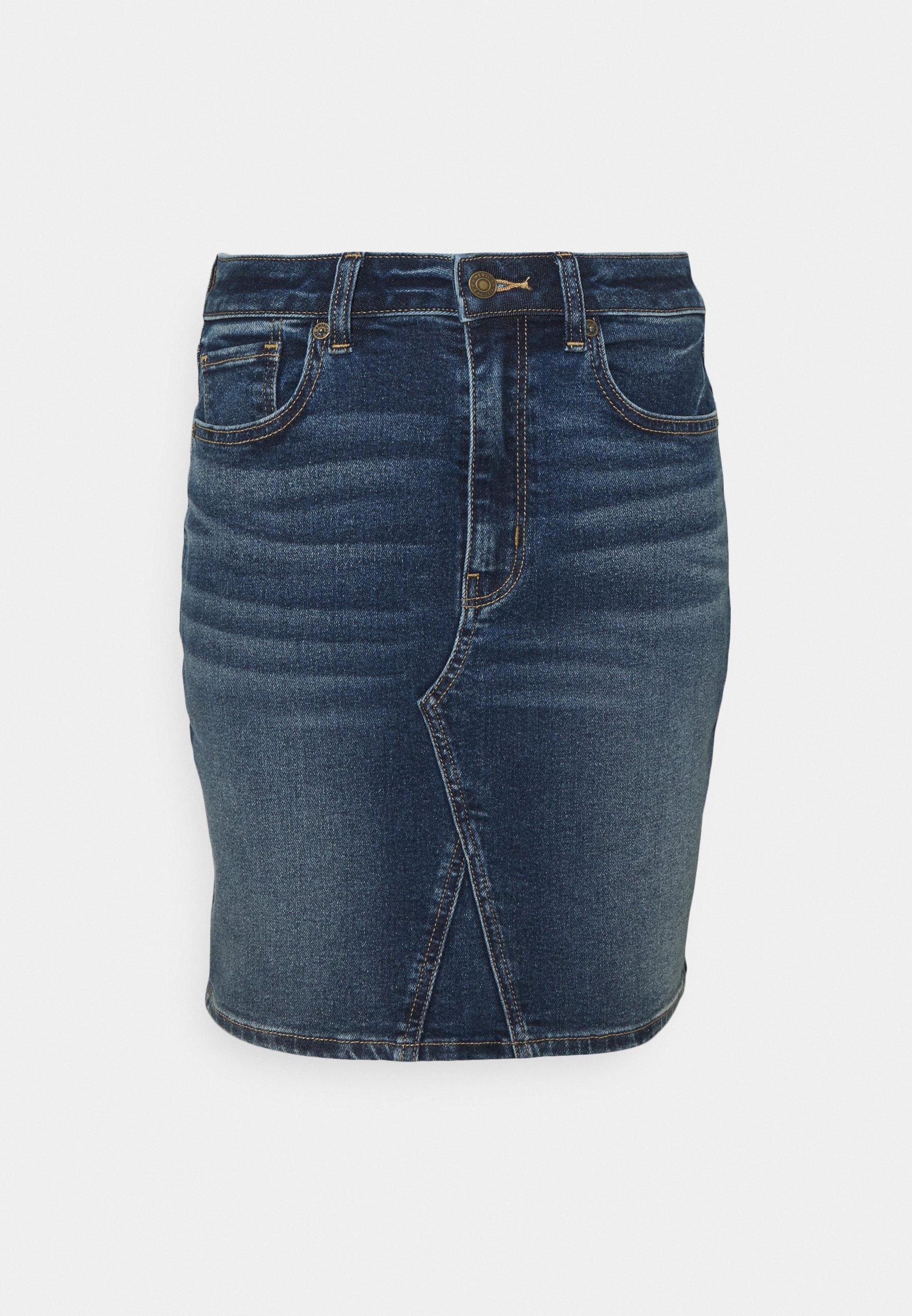 Women MOM SKIRT - Denim skirt