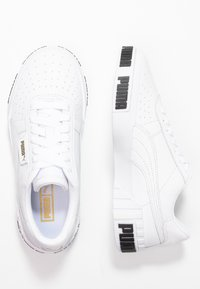 Puma - CALI BOLD - Baskets basses - white/metallic gold - 3