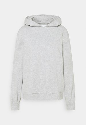 VIRUST HOODIE - Hoodie - light grey melange