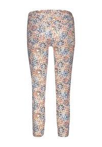 Gerry Weber - Slim fit jeans - rot/orange/blau druck - 4