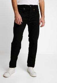 G-Star - STRAIGHT TAPERED - Straight leg jeans - zelz black denim - 0
