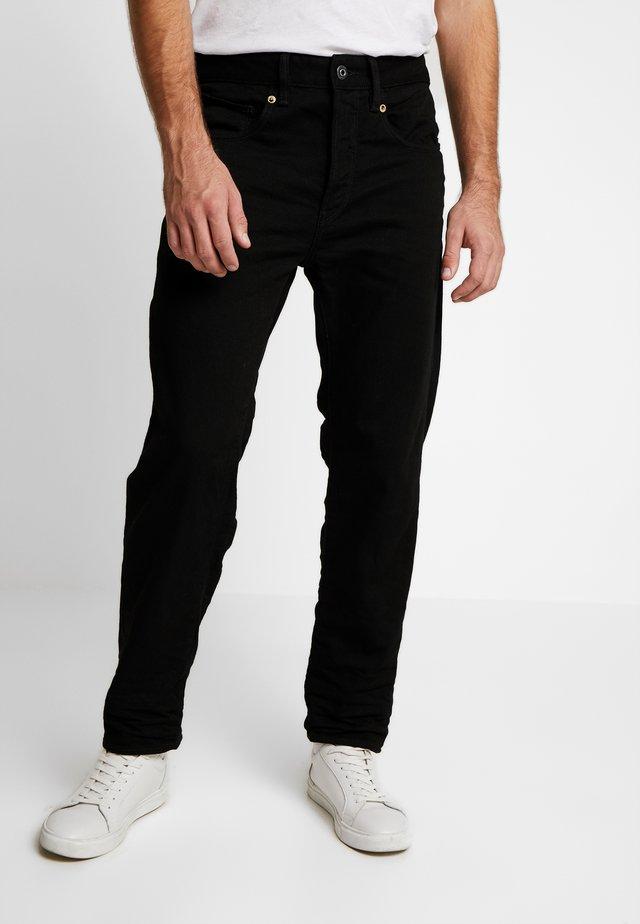 STRAIGHT TAPERED - Jeans Straight Leg - zelz black denim