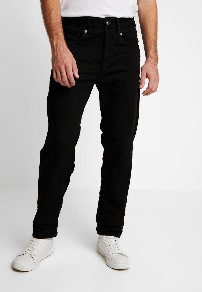 G-Star - STRAIGHT TAPERED - Straight leg jeans - zelz black denim