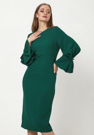 KAZIMIRA - Shift dress - smaragdgrün