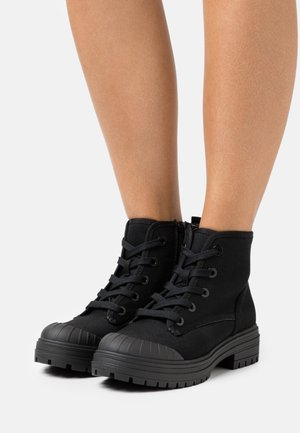 RAE - Lace-up ankle boots - black
