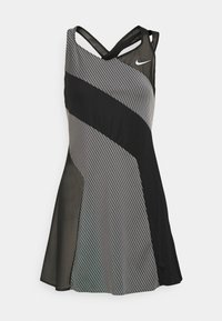 Nike Performance - DRESS - Sports dress - black/white - 5