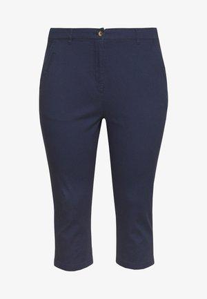COMFORT STRETCH CROPPED TROUSER - Pantaloni - navy