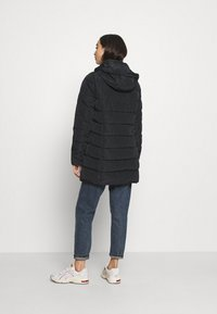 ONLY - ONLNEWMINEA QUILTED HOOD COAT - Parka - black - 3