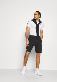 Under Armour - PROJECT ROCK TERRY SHORTS - Sports shorts - black - 1