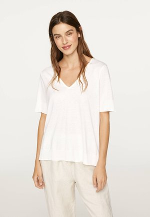WHITE TRANSFER  30427095 - T-shirt basique - white