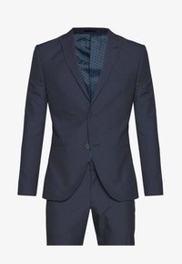 Isaac Dewhirst - RECYCLED NAVY TEXTURE - Oblek - dark blue - 11