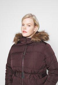 New Look Curves - ELLIE PUFFER - Parka - dark burgundy - 3