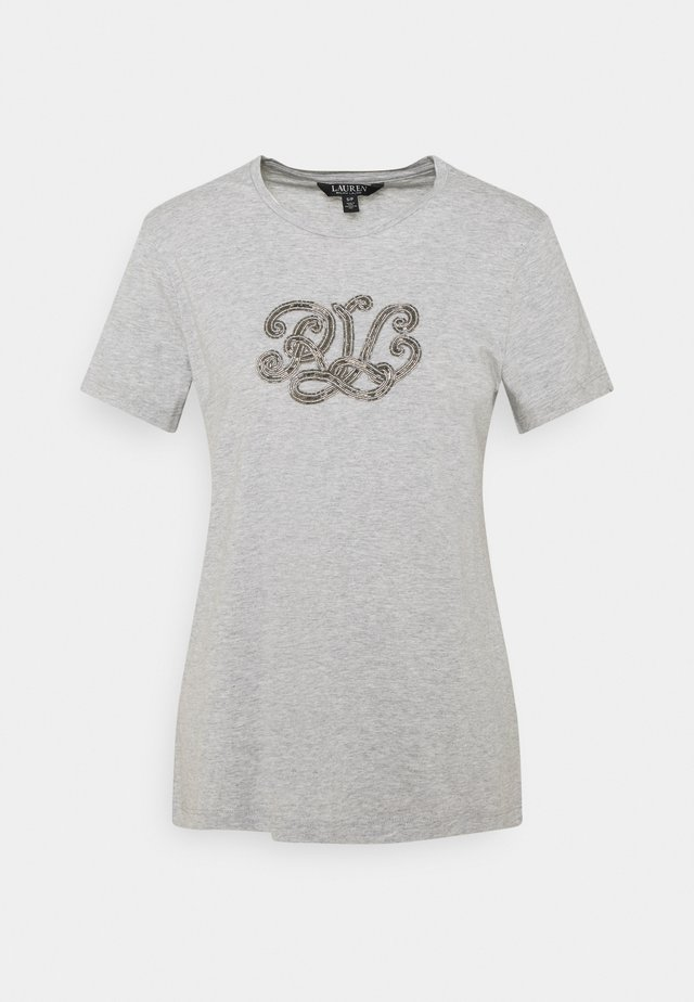 T-shirt imprimé - grey heather