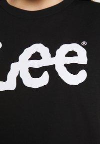 Lee - LOGO TEE - T-shirts med print - black - 5